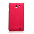 Nillkin Super Matte Hard Cases Skin Covers for Samsung I9050 - Red