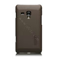 Nillkin Super Matte Hard Cases Skin Covers for Samsung S7530 Omnia M - Brown
