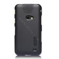 Nillkin Super Matte Hard Cases Skin Covers for Samsung i8530 Galaxy Beam - Black