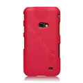 Nillkin Super Matte Hard Cases Skin Covers for Samsung i8530 Galaxy Beam - Red