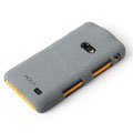 ROCK Quicksand Hard Cases Skin Covers for Samsung i8530 Galaxy Beam - Gray