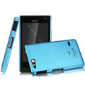 IMAK Ultrathin Matte Color Covers Hard Cases for Sony Ericsson ST27i Xperia Go - Blue