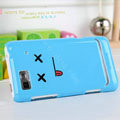 Nillkin Cut Colorful Hard Cases Skin Covers for Motorola XT685 - Blue