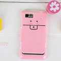 Nillkin Cut Colorful Hard Cases Skin Covers for Motorola XT685 - Pink