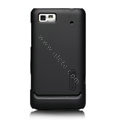 Nillkin Super Matte Hard Cases Skin Covers for Motorola XT685 - Black