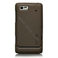 Nillkin Super Matte Hard Cases Skin Covers for Motorola XT685 - Brown