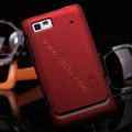 Nillkin Super Matte Hard Cases Skin Covers for Motorola XT685 - Red