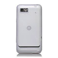 Nillkin Super Matte Rainbow Cases Skin Covers for Motorola XT685 - White