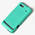 ROCK Colorful Glossy Cases Skin Covers for Motorola XT685 - Blue