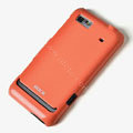 ROCK Colorful Glossy Cases Skin Covers for Motorola XT685 - Red