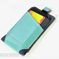 ROCK Rhyme Dynamic Leather Cases Holster Covers for Motorola XT685 - Green
