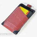 ROCK Rhyme Dynamic Leather Cases Holster Covers for Motorola XT685 - Red