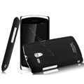 IMAK Ultrathin Matte Color Covers Hard Cases for Sony Ericsson MT25i Xperia neo L - Black