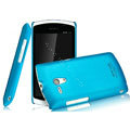 IMAK Ultrathin Matte Color Covers Hard Cases for Sony Ericsson MT25i Xperia neo L - Blue