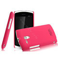 IMAK Ultrathin Matte Color Covers Hard Cases for Sony Ericsson MT25i Xperia neo L - Rose