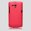 Nillkin Super Matte Hard Cases Skin Covers for Sony Ericsson MT25i Xperia neo L - Red