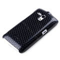 ROCK Jewel Series Cases Skin Covers for Sony Ericsson MT25i Xperia neo L - Black