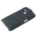ROCK Quicksand Hard Cases Skin Covers for Sony Ericsson MT25i Xperia neo L - Black