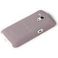 ROCK Quicksand Hard Cases Skin Covers for Sony Ericsson MT25i Xperia neo L - Purple