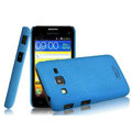 IMAK Cowboy Shell Quicksand Hard Cases Covers for Samsung B9062 - Blue