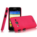 IMAK Cowboy Shell Quicksand Hard Cases Covers for Samsung B9062 - Rose