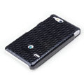 ROCK Jewel Hard Cases Skin Covers for Sony Ericsson ST27i Xperia Go - Black