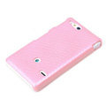 ROCK Jewel Hard Cases Skin Covers for Sony Ericsson ST27i Xperia Go - Pink