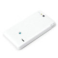 ROCK Jewel Hard Cases Skin Covers for Sony Ericsson ST27i Xperia Go - White
