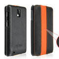 IMAK Luxury Holster Cases Slim leather Covers for Samsung i919 GALAXY SII - Black