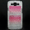 Bling Crystal Cases Diamond Rhinestone Cover For Samsung Galaxy S III 3 i9300 I9308 - Pink