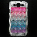 Bling Crystal Cover Diamond Rhinestone Cases For Samsung Galaxy S III 3 i9300 I9308 - Pink