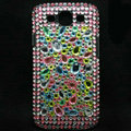 Bling Crystal Covers Rhinestone Diamond Cases For Samsung Galaxy S III 3 i9300 I9308 - Green