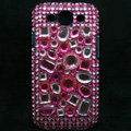 Bling Crystal Covers Rhinestone Diamond Cases For Samsung Galaxy S III 3 i9300 I9308 - Rose