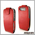 IMAK Colorful leather Cases Holster Covers for Nokia E72 - Red