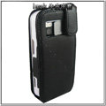 IMAK Colorful leather Cases Holster Covers for Nokia N97 - Black