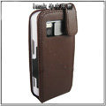 IMAK Colorful leather Cases Holster Covers for Nokia N97 - Coffee