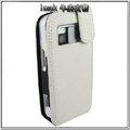 IMAK Colorful leather Cases Holster Covers for Nokia N97 - White
