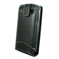 IMAK Colorful leather Cases Holster Covers for Samsung i9000 Galaxy S i9001 - Black