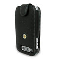 IMAK Flip Genuine leather Cases Holster Covers for Nokia E72 - Black