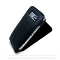 IMAK Flip leather Cases Holster Covers for Nokia E71 - Black