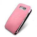 IMAK Flip leather Cases Holster Covers for Nokia E71 - Pink