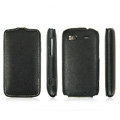 IMAK Jazz Super-Slim leather Cases Luxury Holster Covers for HTC Pyramid Sensation 4G G14 Z710e - Black