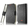 IMAK Slim leather Cases Luxury Holster Covers for Motorola XT550 - Black