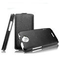 IMAK The Count leather Cases Luxury Holster Covers for HTC One X Superme Edge S720E G23 - Black