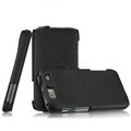 IMAK The Count leather Cases Luxury Holster Covers for Motorola MT917 - Black