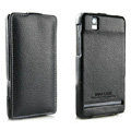 IMAK The Count leather Cases Luxury Holster Covers for Motorola XT928 - Black