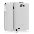 IMAK The Count leather Cases Luxury Holster Covers for Samsung Galaxy Note i9220 N7000 i717 - White