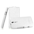 IMAK The Count leather Cases Luxury Holster Covers for Sony Ericsson LT26i Xperia S - White