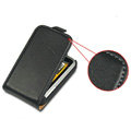 IMAK leather Cases Simple Holster Covers for HTC Wildfire S A510e G13 - Black