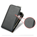 IMAK leather Cases Simple Holster Covers for Samsung Galaxy Ace S5830 i579 - Black